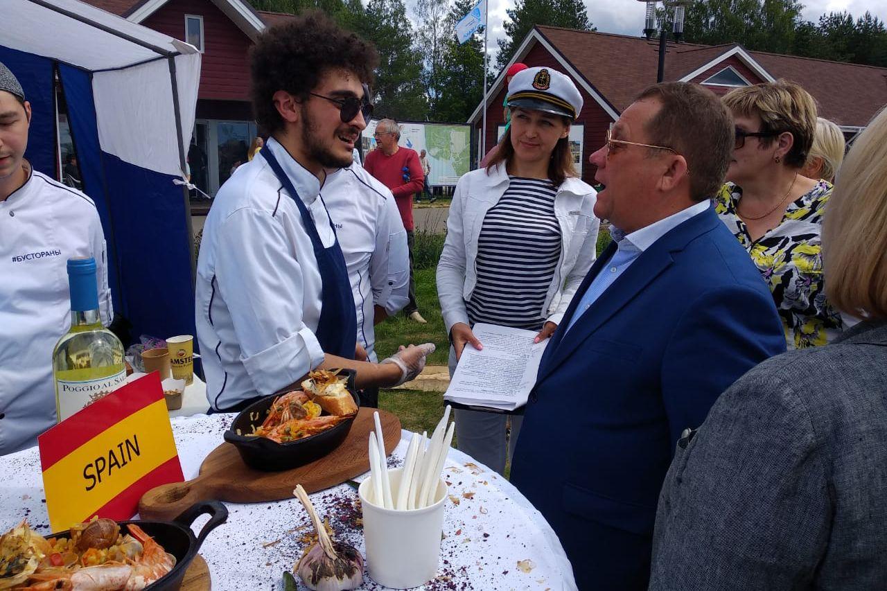 В День рыбака на Ярославском взморье открыли музей Рыбинского моря