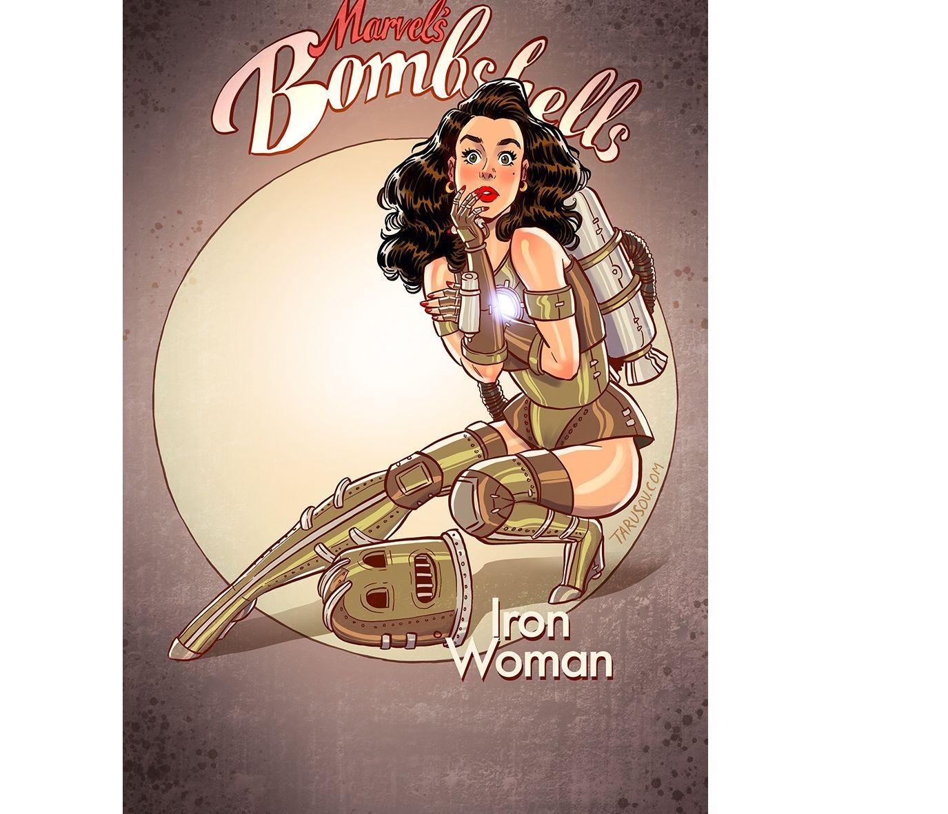 Известный рыбинский художник нарисовал сексапильных героинь комиксов