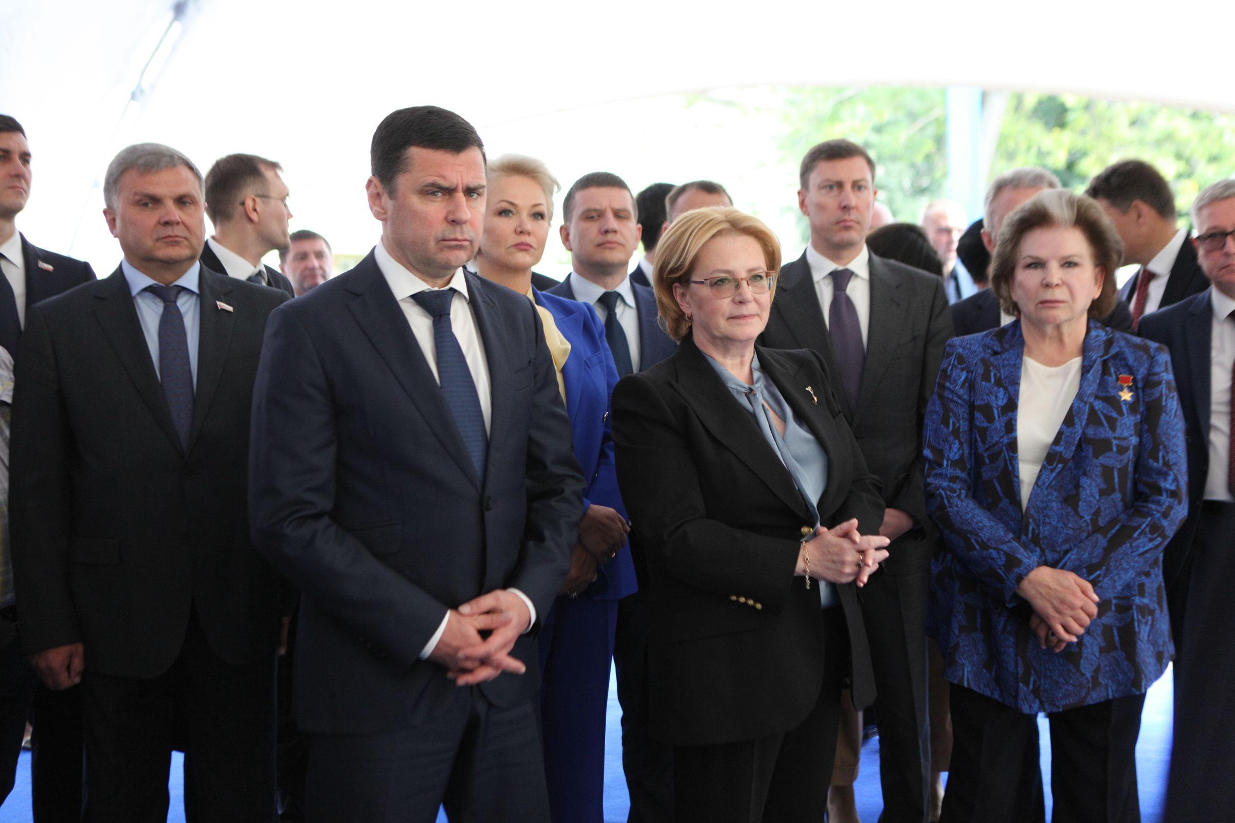 Вероника Скворцова поддержала инициативу Дмитрия Миронова о строительстве нового корпуса областной детской клинической больницы
