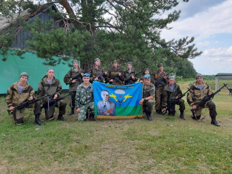 В Ярославской области начал работу лагерь «Маргеловцы – правнуки дяди Васи»