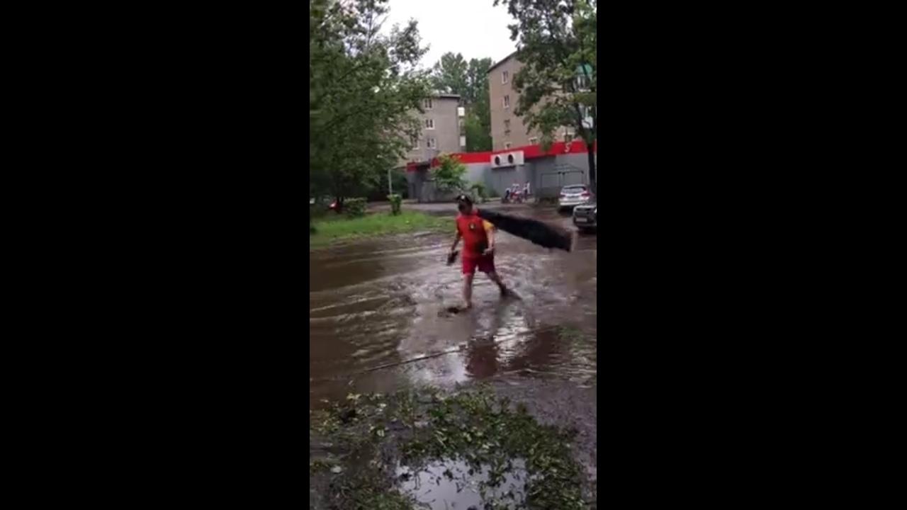В Ярославле появился свой аквамен: видео