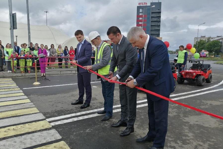 В Рыбинске построили новую дорогу