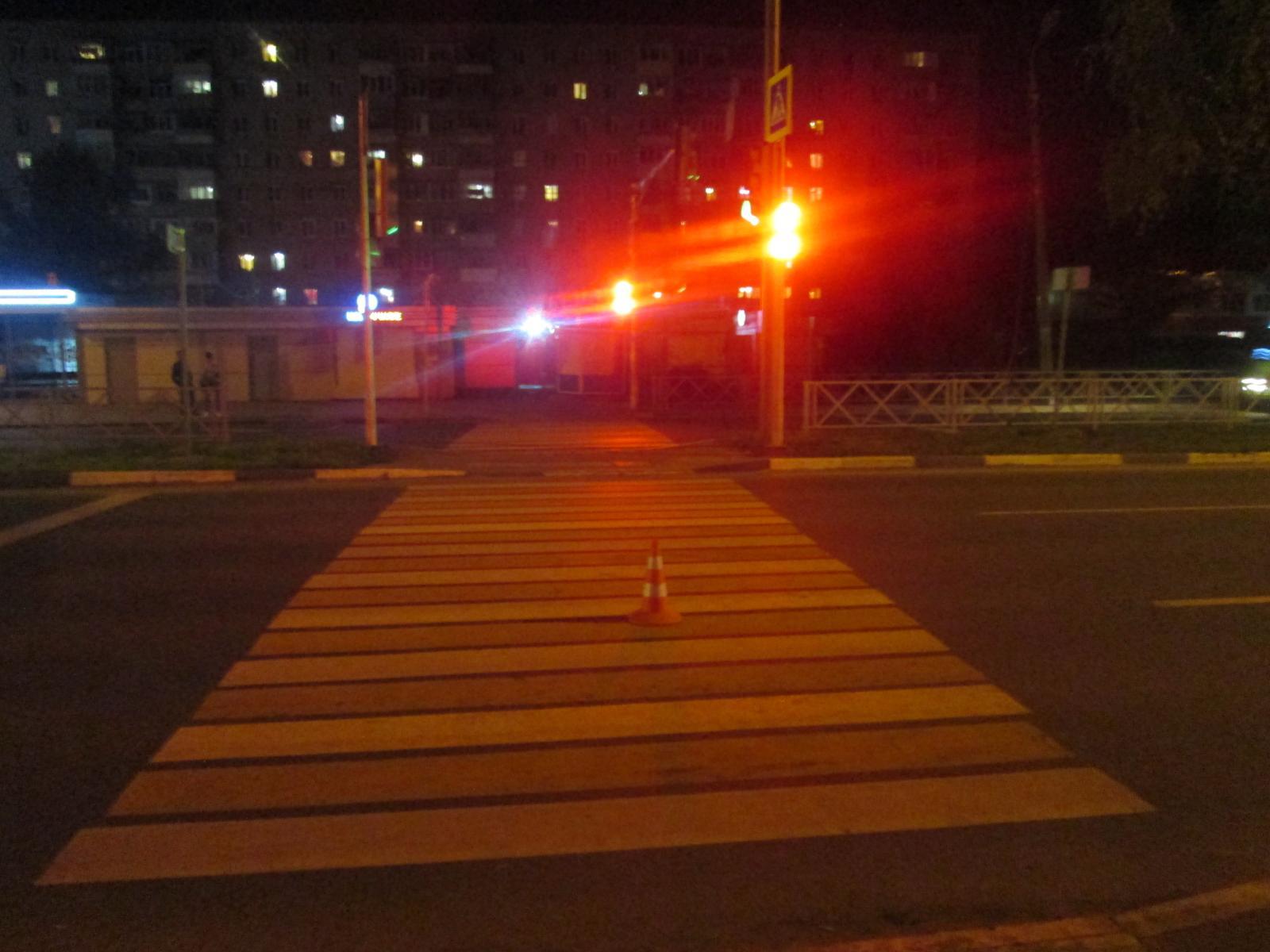 В Ярославле молодой водитель сбил девушку-пешехода
