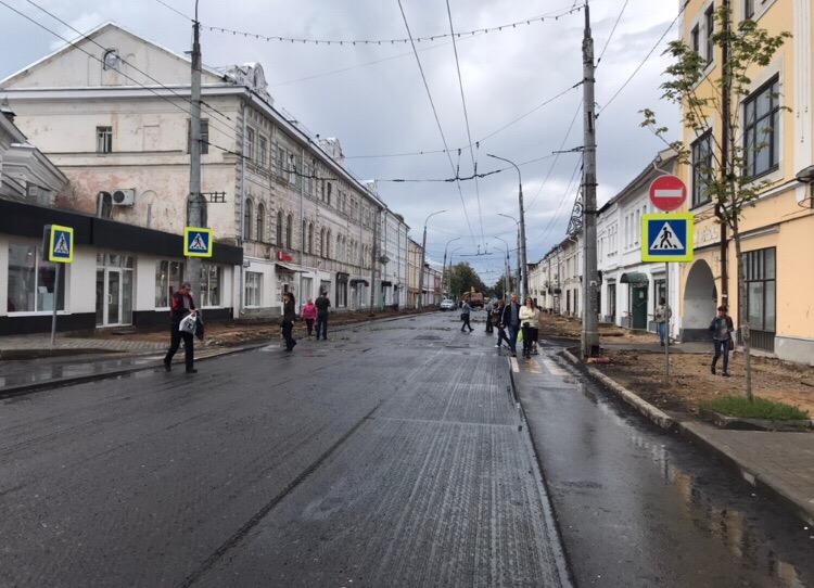 В Рыбинске Крестовую улицу будут открывать частями