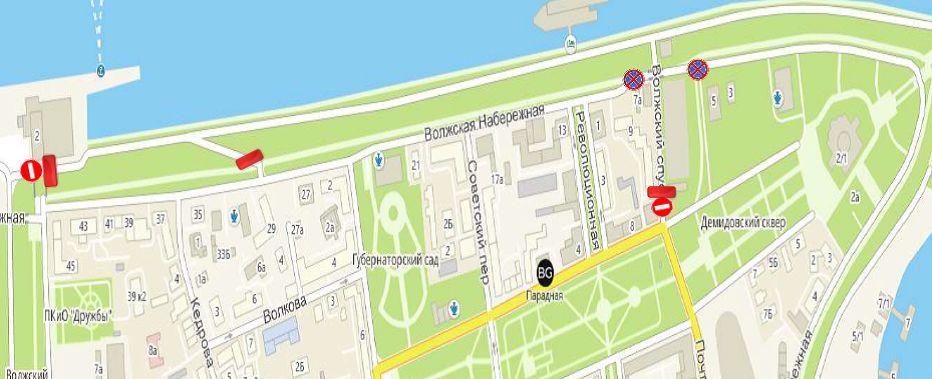 Проезд перекроют: по центру Ярославля побегут полицейские