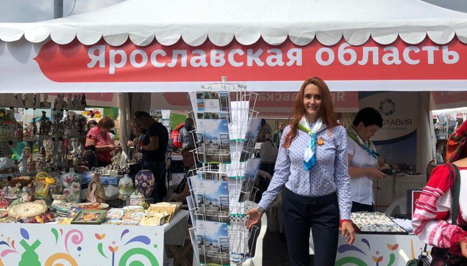 Ярославские ремесленники представили свою продукцию на фестивале в Москве