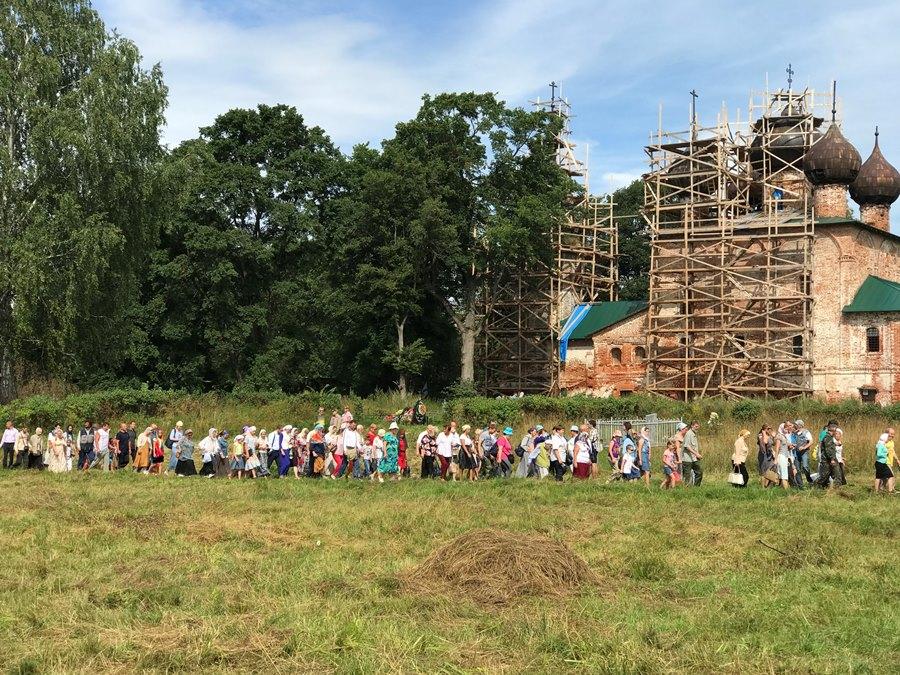 Под Рыбинском установят поклонный крест в память о древнем Богоявленском монастыре