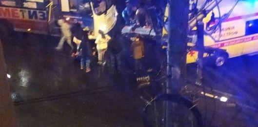 В центре Ярославля маршрутка сбила двух пешеходов