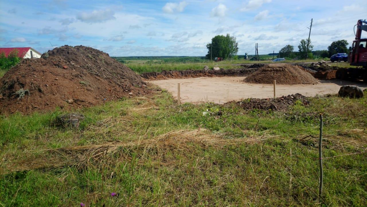 В Ярославской области начали строить новый Дом культуры
