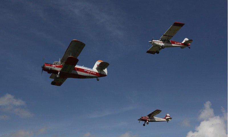 Полеты по воздуху и по земле. Посетители международного фестиваля смогут почувствовать себя пилотами