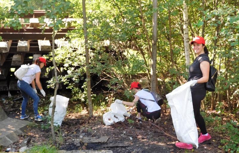 В Рыбинске на чемпионате по сбору мусора участники вывезли полторы тонны отходов
