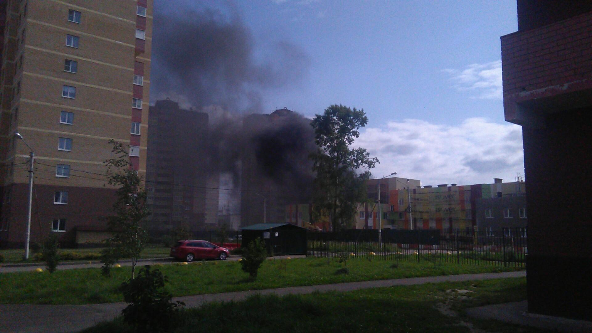 В Ярославле горел строящийся детский сад