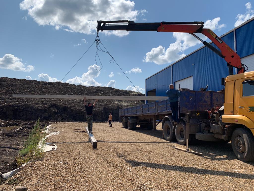 Готовится к запуску новый комплекс по дроблению отходов в АО «Скоково»
