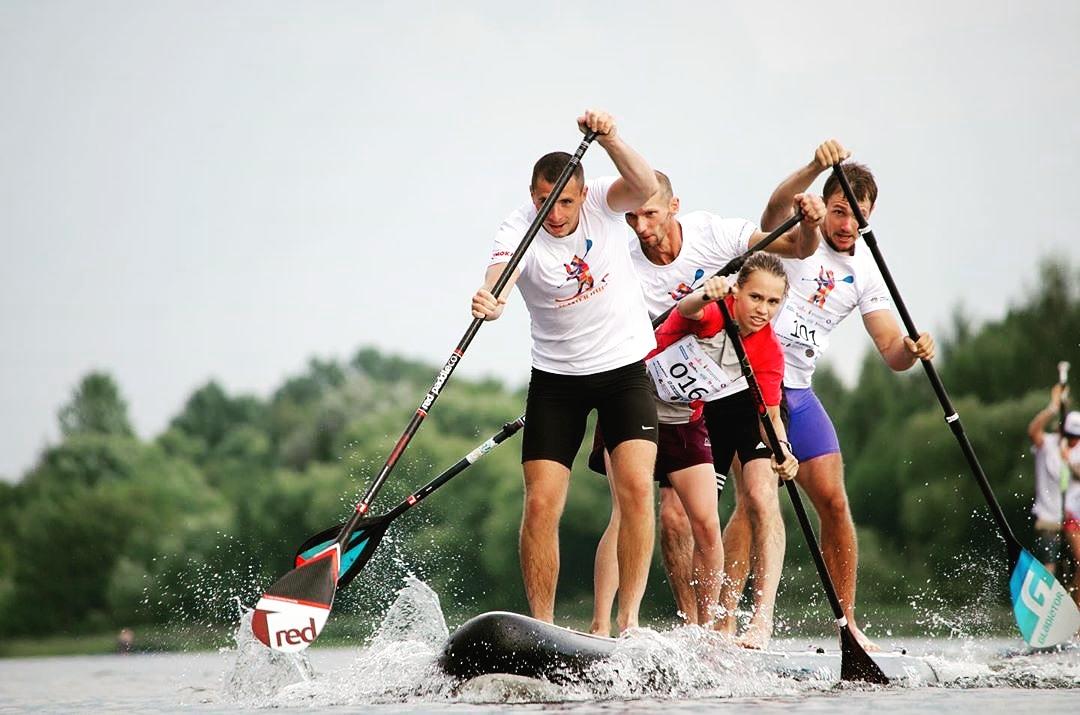 В Ярославле прошли Всероссийские соревнования по сапсерфингу: фото