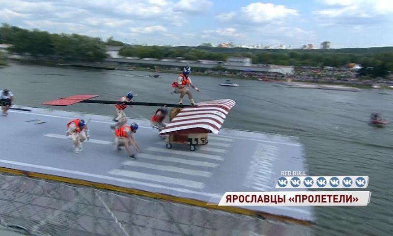 Ярославцы утопили свой самолет на фестивале самодельных летательных аппаратов
