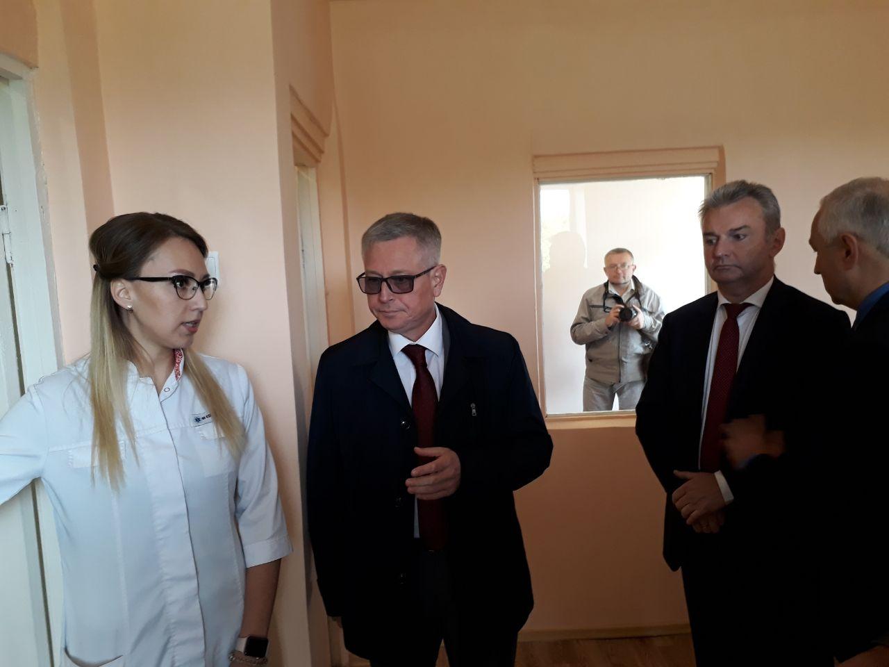 Завершен капитальный ремонт инфекционного отделения Тутаевской районной больницы