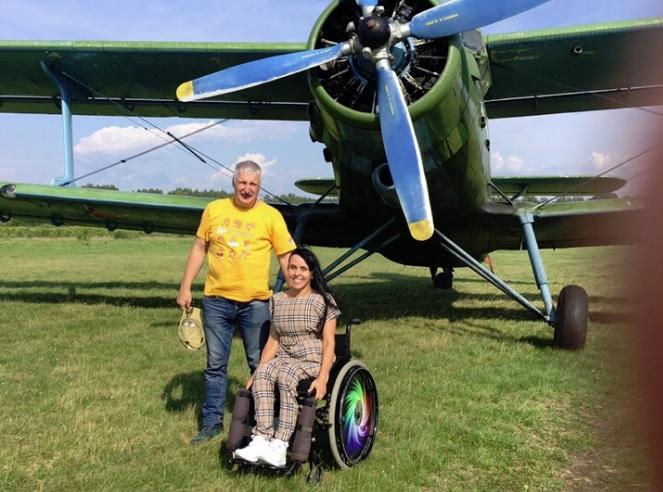 Мэр Рыбинска исполнил мечту женщины-инвалида о полете