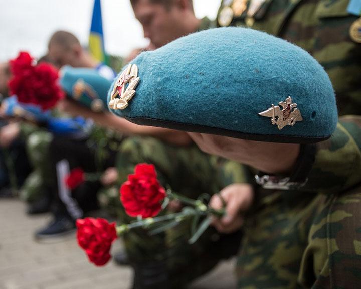 По улицам Рыбинска пройдет шествие десантников