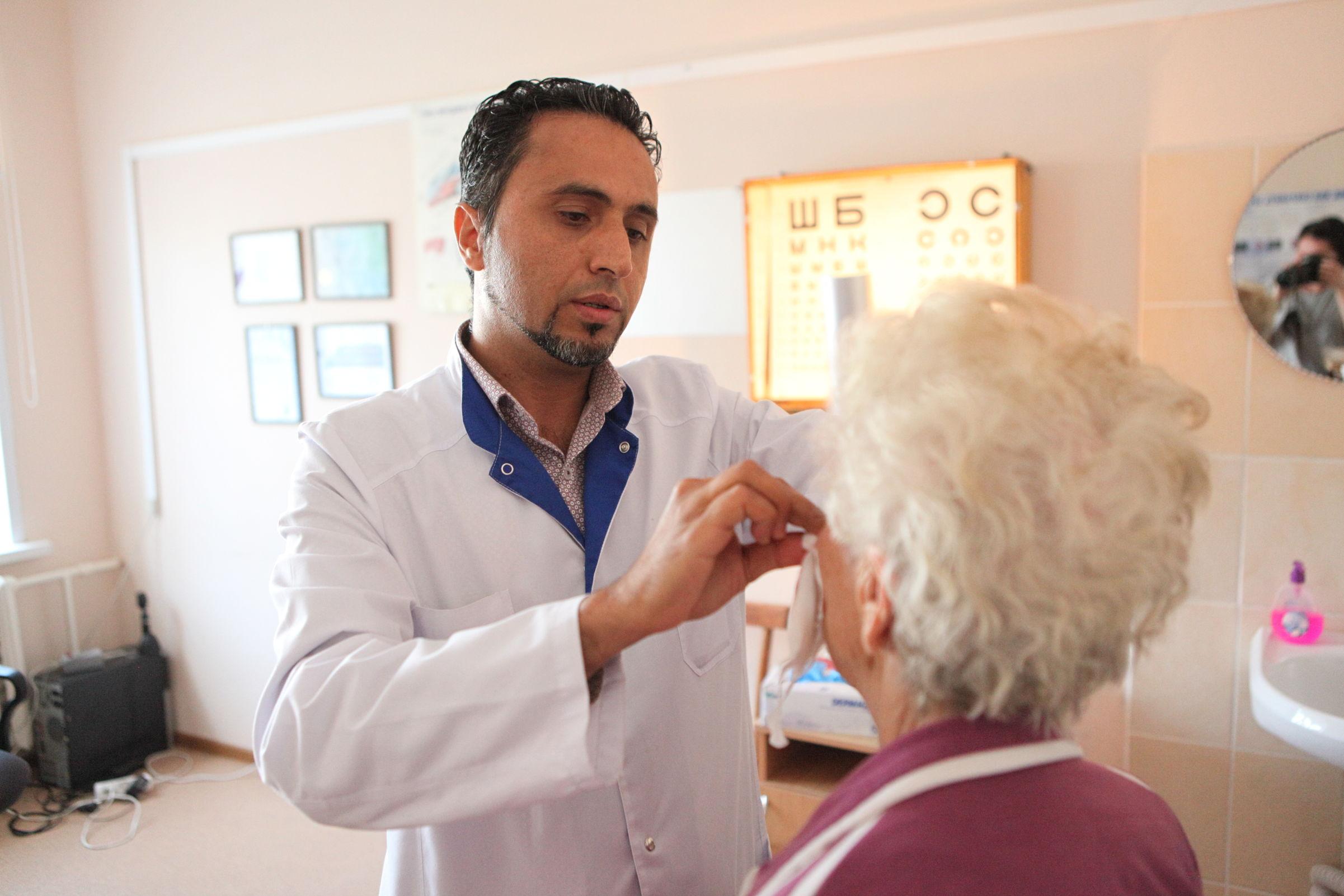 Офтальмолог с Ближнего Востока. Почему глазной врач из Йемена выбрал своей новой родиной Ярославль