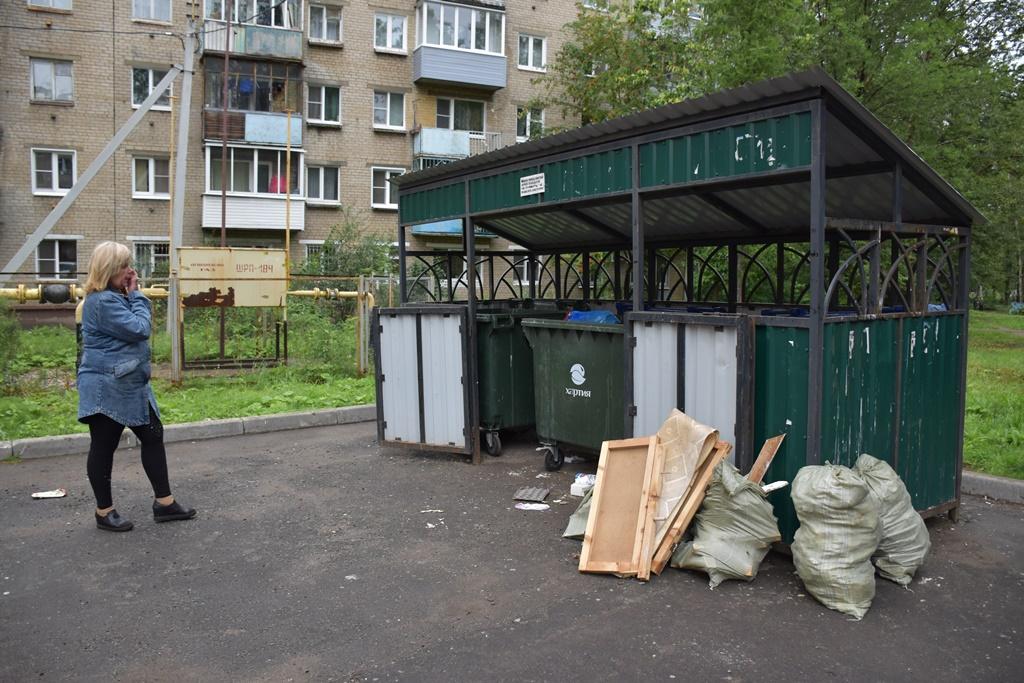 Во Фрунзенском и Красноперекопском районах проверили контейнерные площадки