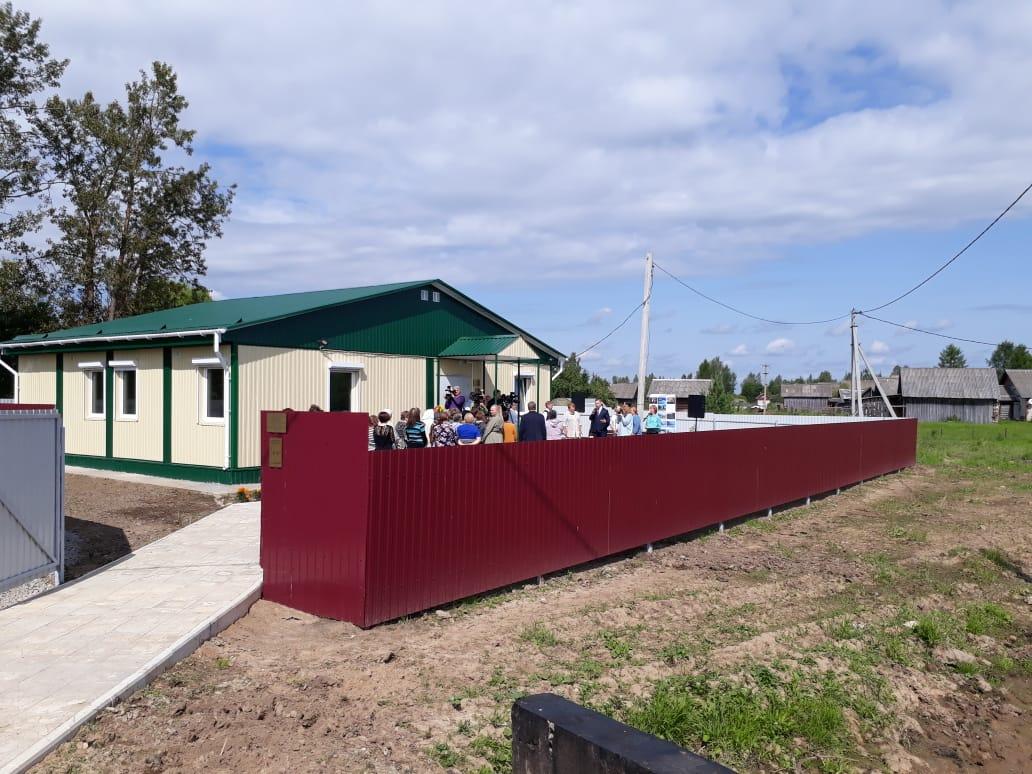 В рамках нацпроекта «Здравоохранение» в Мышкинском районе открыт новый фельдшерско-акушерский пункт