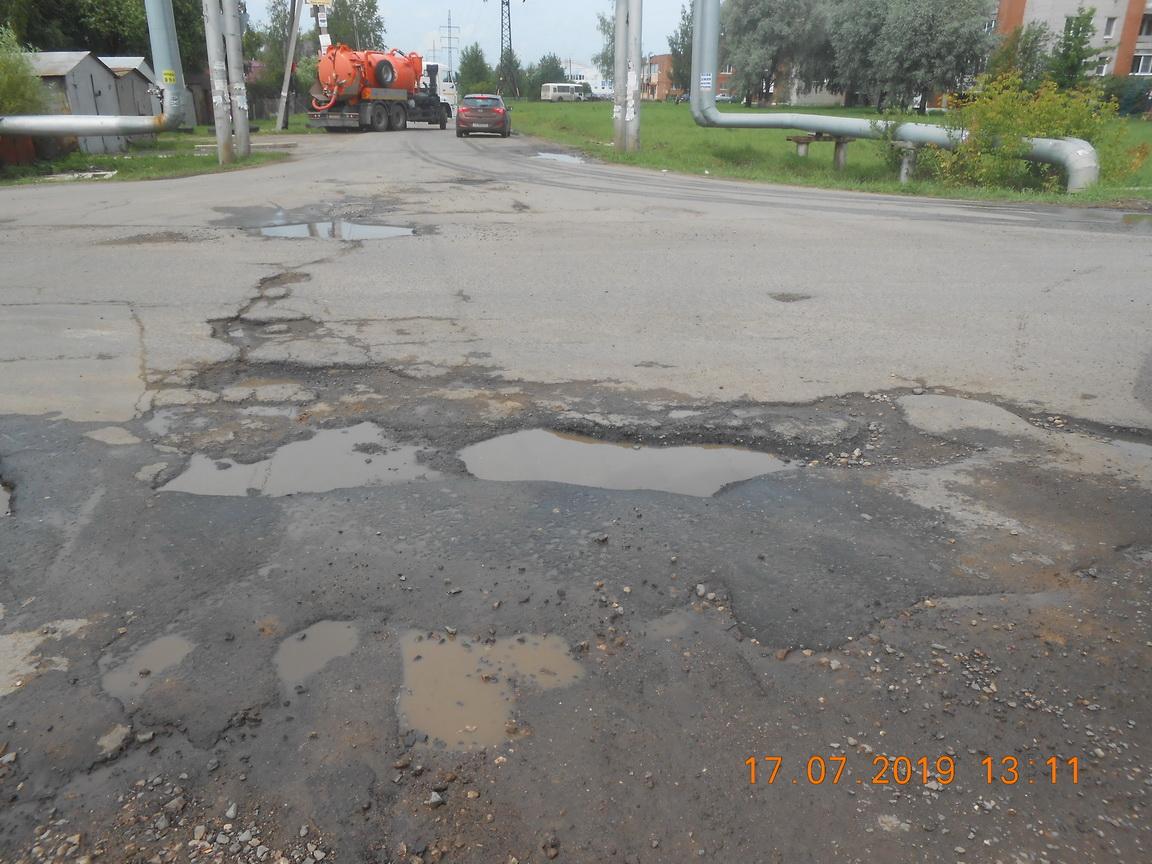 В Ярославле прокуратура требует отремонтировать дороги в поселке Творогово