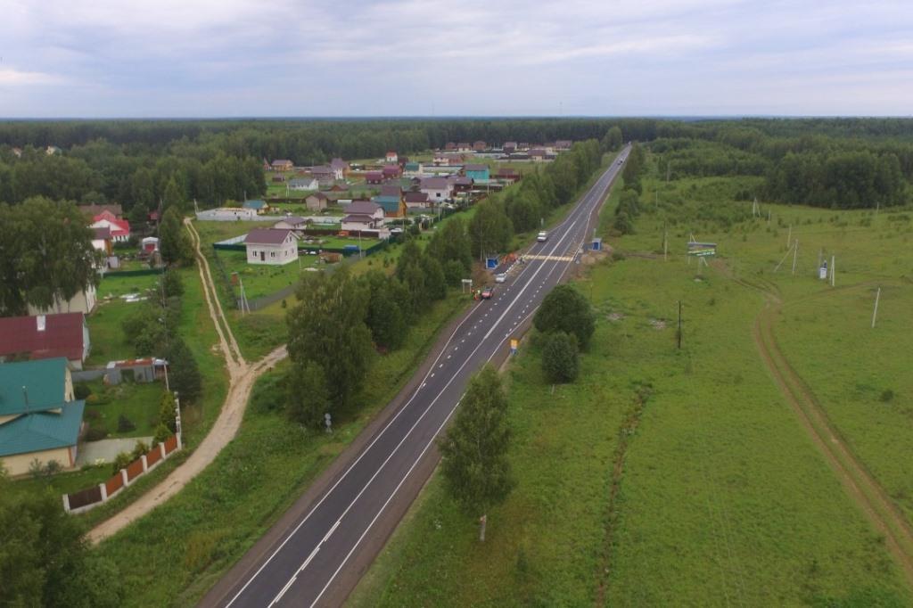 В Ярославской области завершили ремонт двух дорог в рамках нацпроекта