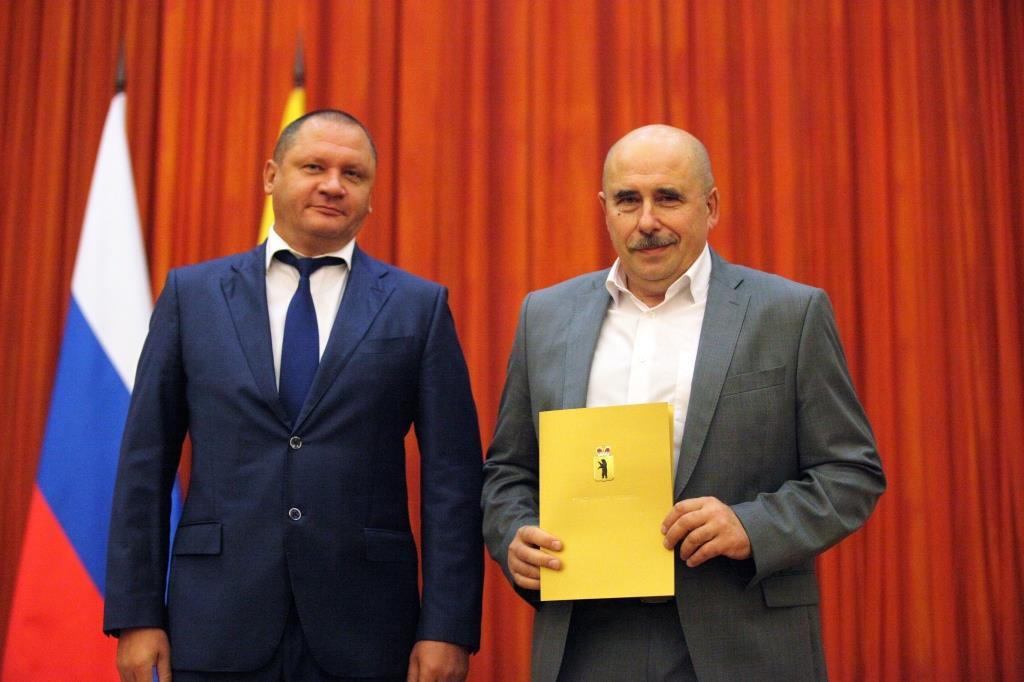 В Ярославле наградили лучших строителей региона
