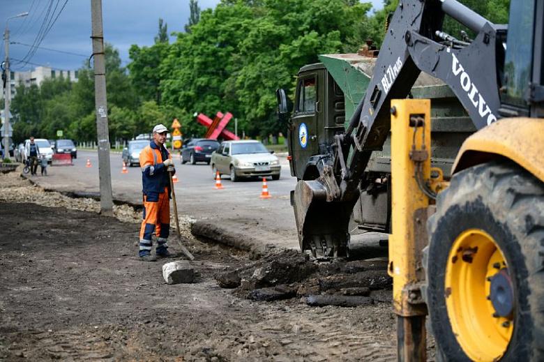 Ремонт дороги на улице Угличской обещают закончить к 10 октября