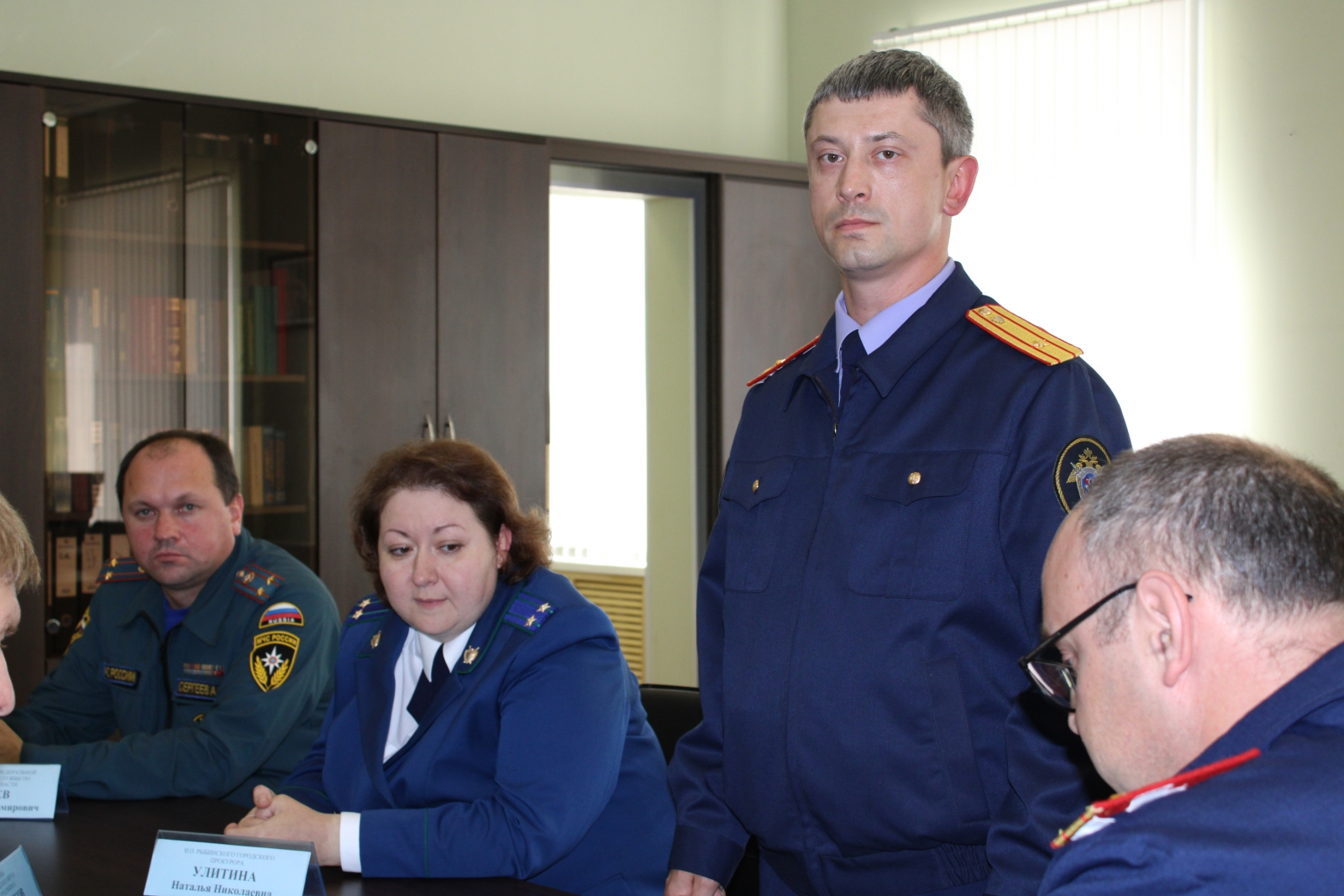 Назначен новый руководитель следственного отдела Рыбинска