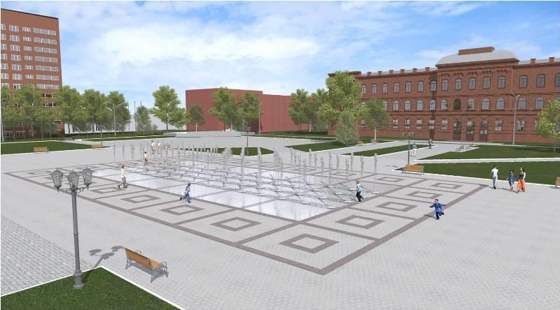 В центре Рыбинска планируют построить подземный фонтан