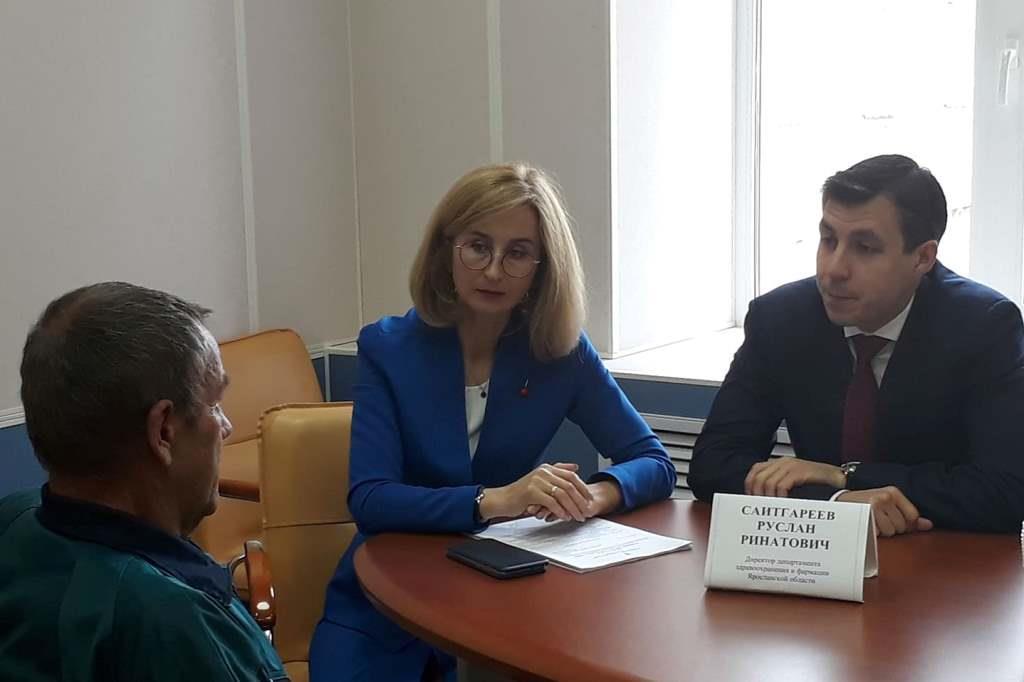 Руководство департамента здравоохранения внедряет новую форму работы с гражданами