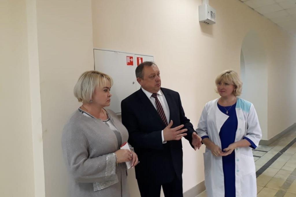 В середине сентября поликлиника №1 Центральной больницы Ярославля переедет на проспект Октября