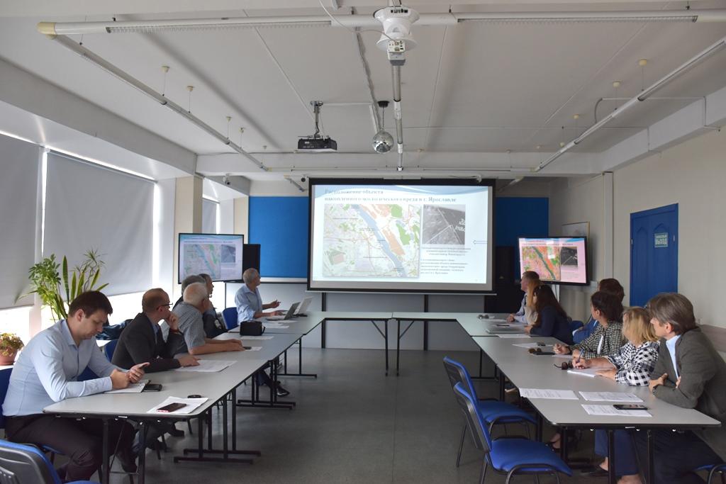 Эксперты обсудили вопрос ликвидации «зеленых масел» на территории бывшего сажевого завода в Ярославле