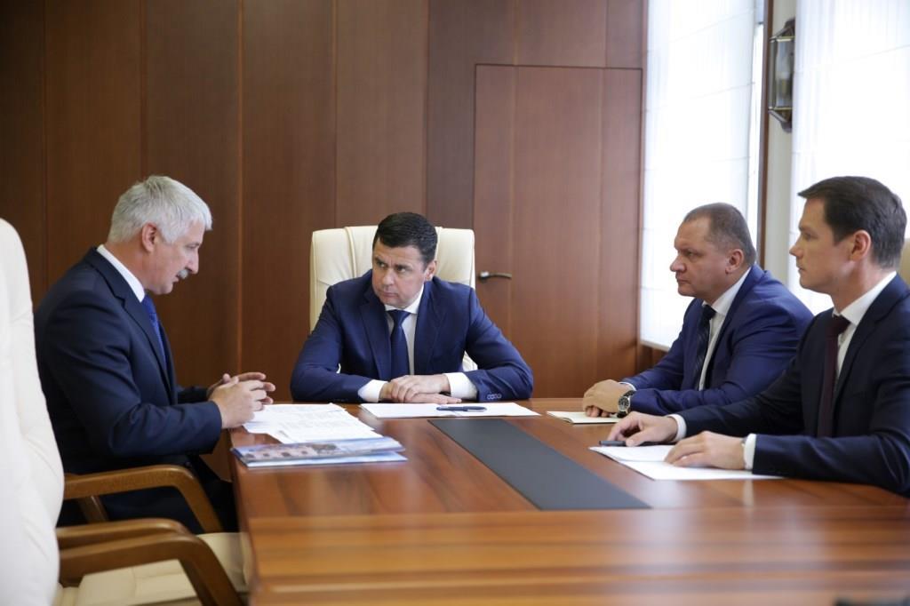 Дмитрий Миронов: при проведении берегоукрепления в Рыбинске исторический облик набережной должен быть сохранен