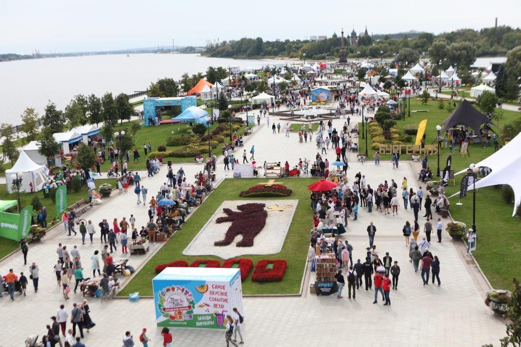 Стало известно, сколько гостей посетили городской пикник «Пир на Волге» в Ярославле