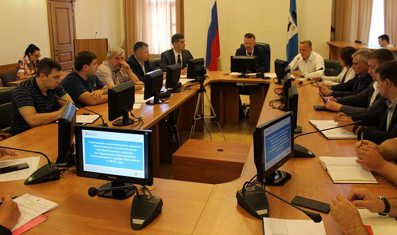 Власти Ярославля указали на недостатки при ремонте Тутаевского шоссе