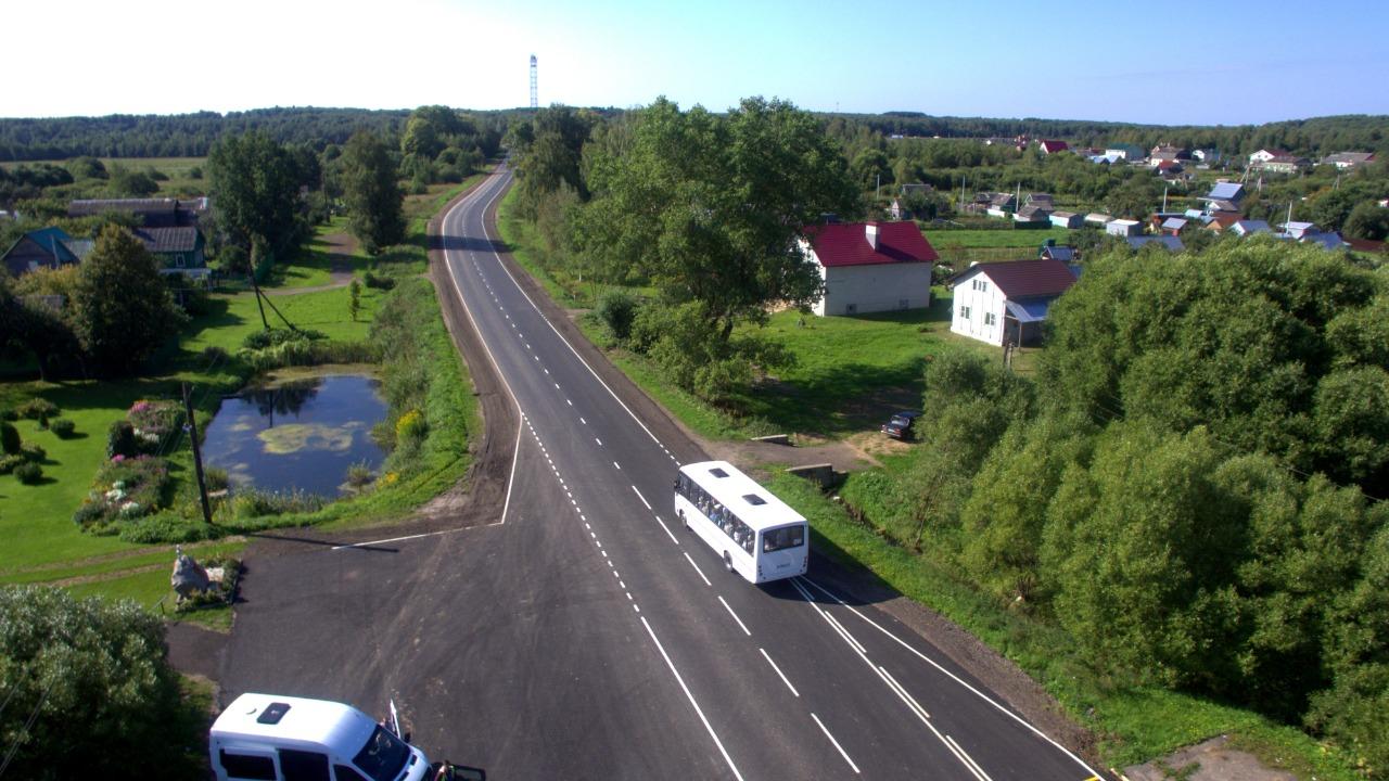 В Ярославской области отремонтировали шесть дорог в рамках нацпроекта