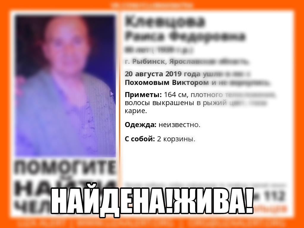 В Рыбинске нашли пенсионерку с ребенком, которые провели ночь в лесу