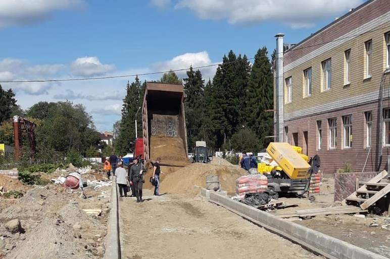 Новый детский сад под Ярославлем достроят до конца года