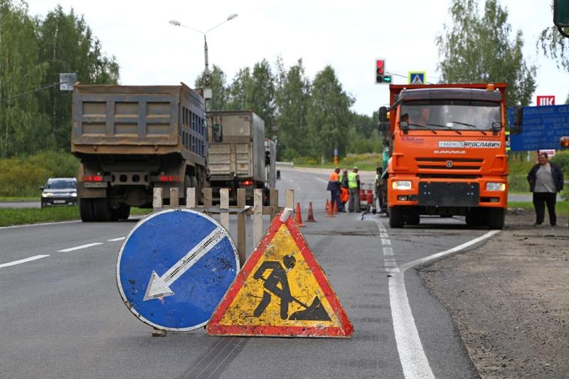 В Рыбинске после жалоб в соцсетях подрядчика вернули на окружную дорогу