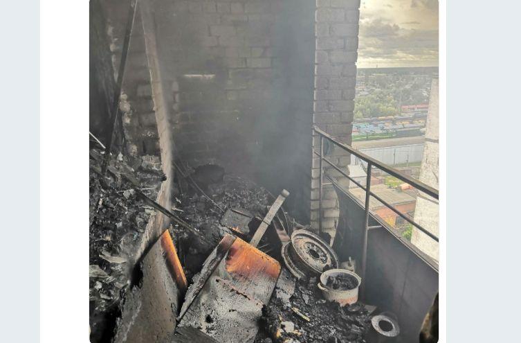 В Рыбинске на пожаре спасли двух человек