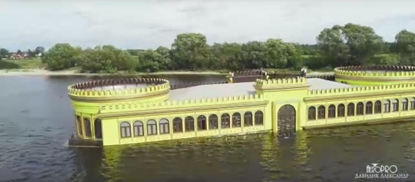 В сети появилось видео ярославского «Титаника»