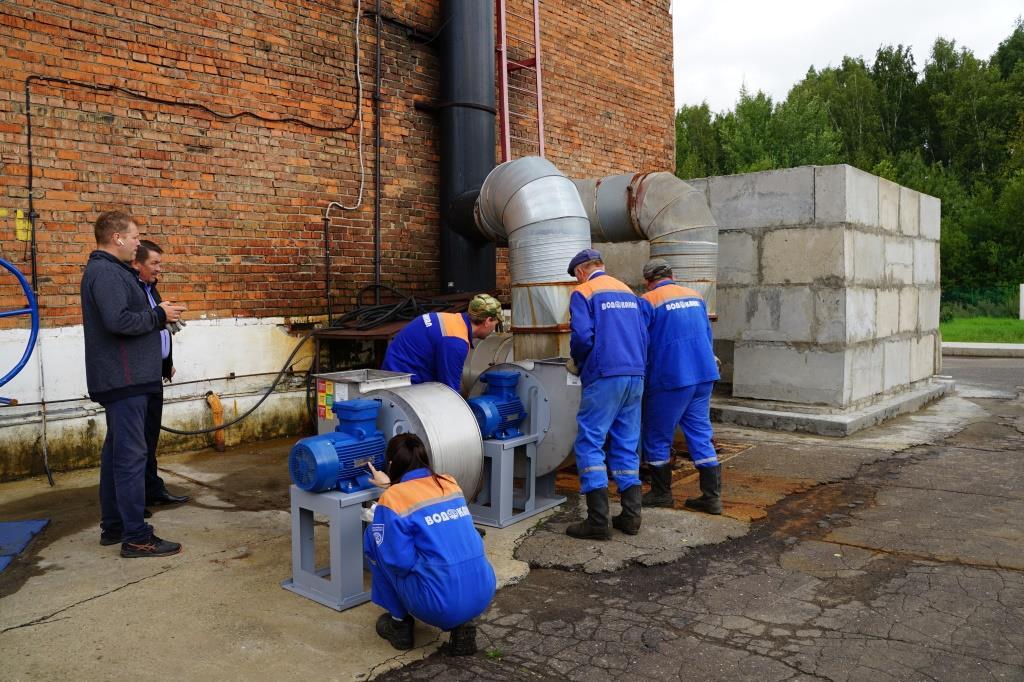 На канализационно-насосных станциях Ярославля устанавливают фильтры для очистки воздуха