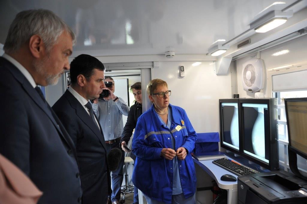 В сентябре в Ярославской области начнется реализация федерального проекта «Мобильная медицина» – Миронов
