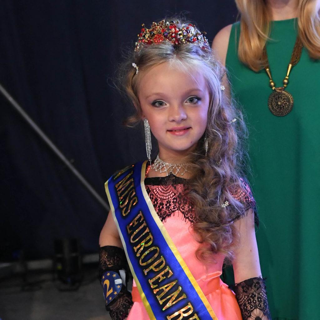 10-летняя девочка из Рыбинска стала «Юной Мисс Европа – 2019»