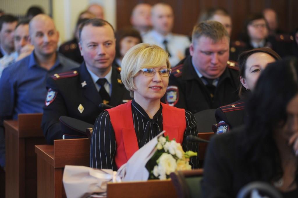 В правительстве Ярославской области наградили лучших народных дружинников