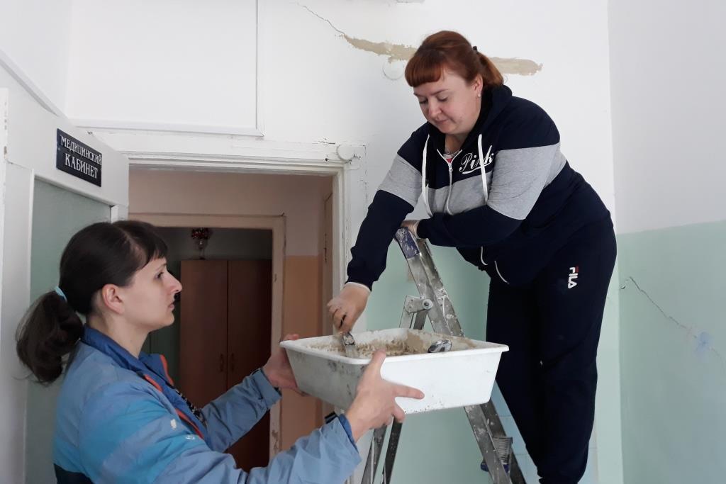 В деревне Грешнево Некрасовского района начался ремонт детского сада