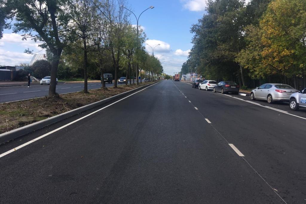 На трассе Ярославль – Углич в поселке Карачиха завершился ремонт