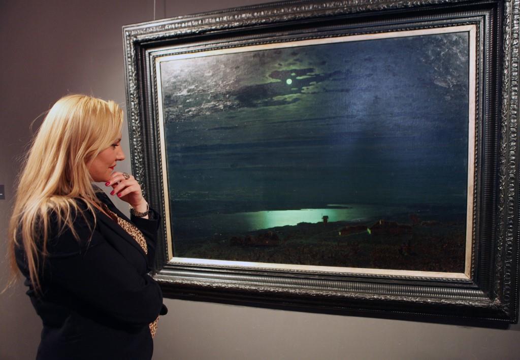 В Ярославле открылась выставка Архипа Куинджи